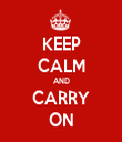 KEEP CALM AND CARRY ON - Personalised Tea Towel: Premium