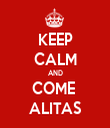 KEEP CALM AND COME  ALITAS - Personalised Tea Towel: Premium