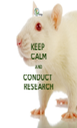 KEEP  CALM AND CONDUCT  RESEARCH - Personalised Tea Towel: Premium