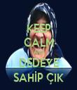 KEEP CALM AND DEDEYE SAHİP ÇIK - Personalised Tea Towel: Premium