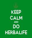 KEEP CALM AND DO HERBALIFE - Personalised Tea Towel: Premium