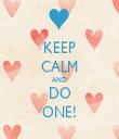 KEEP CALM AND DO ONE! - Personalised Tea Towel: Premium