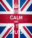 KEEP CALM AND DO THE  SPLITS - Personalised Tea Towel: Premium