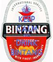 KEEP CALM AND DRINK BINTANG - Personalised Tea Towel: Premium