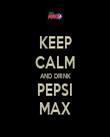 KEEP CALM AND DRINK PEPSI MAX - Personalised Tea Towel: Premium