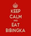KEEP CALM AND EAT BIBINGKA - Personalised Tea Towel: Premium