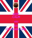KEEP CALM AND Eat Chocolate Cake - Personalised Tea Towel: Premium