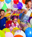 KeEp CaLm ANd EnJoY yOuR PaRtY - Personalised Tea Towel: Premium