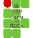 KEEP CALM AND FÍSICA  - Personalised Tea Towel: Premium