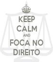 KEEP CALM AND FOCA NO DIREITO - Personalised Tea Towel: Premium