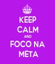 KEEP CALM AND FOCO NA  META - Personalised Tea Towel: Premium