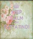 KEEP CALM AND FUTTATINDI  - Personalised Tea Towel: Premium