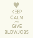 KEEP CALM AND GIVE BLOWJOBS - Personalised Tea Towel: Premium