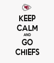 KEEP CALM AND GO CHIEFS - Personalised Tea Towel: Premium