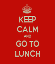 KEEP CALM AND GO TO LUNCH - Personalised Tea Towel: Premium