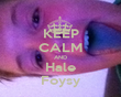 KEEP CALM AND Hale Foysy - Personalised Tea Towel: Premium