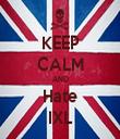 KEEP CALM AND Hate IXL - Personalised Tea Towel: Premium