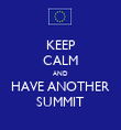 KEEP CALM AND HAVE ANOTHER SUMMIT - Personalised Tea Towel: Premium