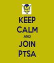 KEEP CALM AND JOIN PTSA - Personalised Tea Towel: Premium
