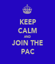 KEEP CALM AND JOIN THE PAC - Personalised Tea Towel: Premium