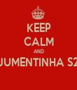 KEEP CALM AND JUMENTINHA S2  - Personalised Tea Towel: Premium