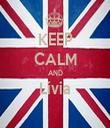 KEEP CALM AND Lívia  - Personalised Tea Towel: Premium
