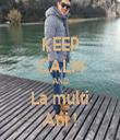 KEEP CALM AND La multi Ani ! - Personalised Tea Towel: Premium