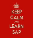 KEEP CALM AND LEARN SAP - Personalised Tea Towel: Premium