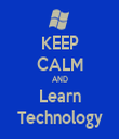 KEEP CALM AND Learn Technology - Personalised Tea Towel: Premium