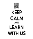 KEEP CALM AND LEARN WITH US - Personalised Tea Towel: Premium