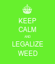 KEEP CALM AND LEGALIZE WEED - Personalised Tea Towel: Premium