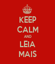KEEP CALM AND LEIA MAIS - Personalised Tea Towel: Premium