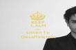 KEEP CALM AND Listen To Gesaffelstein - Personalised Tea Towel: Premium