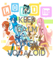 KEEP CALM AND LISTEN VOCALOID - Personalised Tea Towel: Premium
