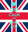 KEEP CALM AND love  ???? - Personalised Tea Towel: Premium