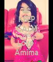 KEEP CALM AND Love  Amima - Personalised Tea Towel: Premium