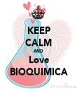 KEEP CALM AND Love BIOQUIMICA - Personalised Tea Towel: Premium