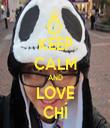 KEEP CALM AND LOVE CHÍ - Personalised Tea Towel: Premium