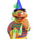 KEEP CALM AND LOVE ERNIE - Personalised Tea Towel: Premium