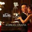 KEEP CALM AND LOVE KOREAN DRAMA - Personalised Tea Towel: Premium