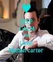 KEEP CALM AND Love  Nathan carter  - Personalised Tea Towel: Premium