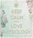 KEEP CALM AND LOVE PHYSIOLOGY - Personalised Tea Towel: Premium