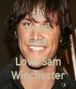 Keep Calm And Love Sam Winchester - Personalised Tea Towel: Premium