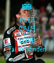 KEEP CALM AND LOVE Tai Woffinden - Personalised Tea Towel: Premium