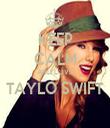 KEEP CALM AND LOVE TAYLO SWIFT  - Personalised Tea Towel: Premium