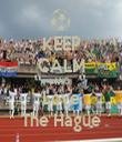 KEEP CALM AND Love The Hague - Personalised Tea Towel: Premium