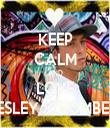 KEEP CALM AND LOVE WESLEY STROMBERG - Personalised Tea Towel: Premium