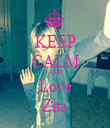 KEEP CALM AND Love Zita - Personalised Tea Towel: Premium