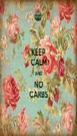 KEEP CALM AND NO CARBS - Personalised Tea Towel: Premium