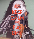 KEEP CALM AND Play BMX - Personalised Tea Towel: Premium